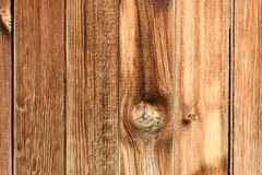 Texture of wooden fence background Royalty Free Stock Images