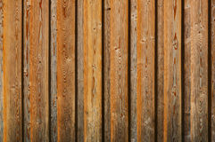 Texture of wooden fence Royalty Free Stock Photos