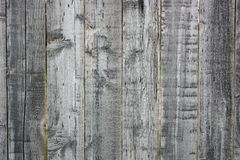 Whethered Vintage Wooden Fence Texture stock image