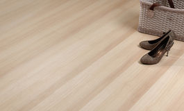 Texture of wooden floor. With empty space to put text or idea on it Royalty Free Stock Photography
