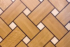 Texture of the wooden floor. To serve as background Stock Photo