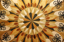 Texture of the wooden floor Stock Photo