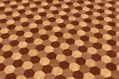 Texture of wooden floor. Can be used as background Stock Photography