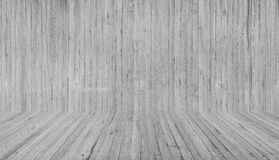 Texture of wooden formwork stamped on a raw concrete wall. Texture of wooden form work stamped on a raw concrete wall as background Stock Photo