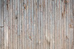 Texture of wooden horizontal old blue smooth boards royalty free stock photo