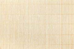 Texture of wooden light background. Bamboo traditional napkin for a table. Royalty Free Stock Photography