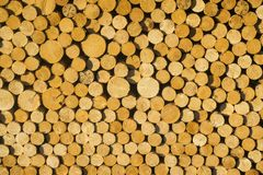 Texture of wooden logs for designs, pattern for backgrounds. Horizontal graphic resource stock photos