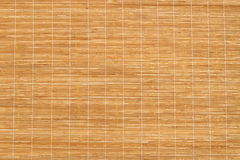 Texture of Wooden mat Royalty Free Stock Image
