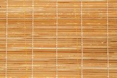 Texture of Wooden mat Stock Image