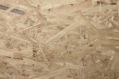 Texture of wooden OSB board Stock Image