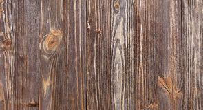 Texture of wooden planks mahogany Stock Photos