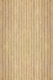 Texture of the wooden slats of bamboo.  Stock Images