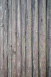 Texture of wooden sticks. Texture of old wooden sticks in a row Royalty Free Stock Images