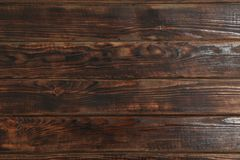 Texture of wooden surface as background. Space for text royalty free stock photography