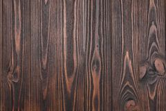 Texture of wooden surface as background. Top view royalty free stock photography
