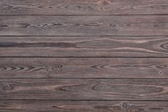 Texture of wooden surface as background. Top view royalty free stock images