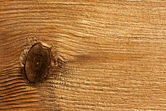 Texture of wooden surface with  knot Royalty Free Stock Image