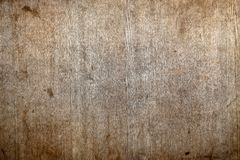 Texture of a wooden surface Stock Image