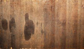 Texture of a wooden surface Royalty Free Stock Photos