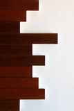 Texture of a wooden wall Stock Images