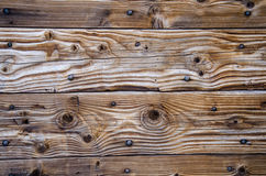 Texture of wooden wall. Royalty Free Stock Images