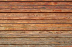 Texture of wooden wall. Texture of brown wooden planks as background Royalty Free Stock Photo