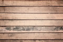 Texture of wooden wall in grudge Royalty Free Stock Image