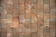 Texture. Wooden wall in the park Royalty Free Stock Images