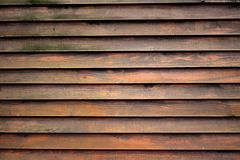 The texture of wooden wall Royalty Free Stock Images