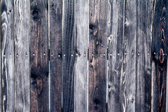 Texture of a wooden wall. Stock Photography
