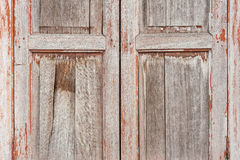 Texture of a wooden window Stock Image