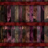Texture woods red royalty free illustration