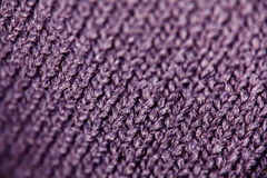 Texture of wool fabric weave Stock Images