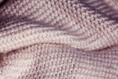 Texture of wool fabric weave Royalty Free Stock Photography