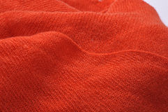 The texture of a wool scarf Royalty Free Stock Photo