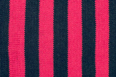 Texture of wool vertical black pink stripes Stock Photo