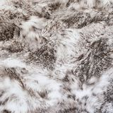 Texture of wool for wallpaper in beige - gray Royalty Free Stock Photography