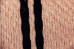 Texture of wool weave Stock Photo