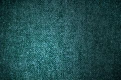 Texture woolen fabric green color Royalty Free Stock Image