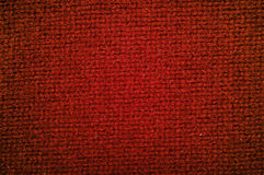 Texture woolen fabric red color Royalty Free Stock Photos