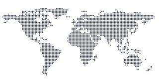 Texture world map Stock Photos