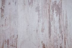 Texture with worn white color on wood Stock Images