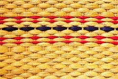 Texture of woven bag Royalty Free Stock Photo