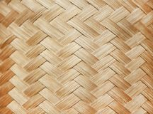 Texture woven bamboo,Wooden background royalty free stock image