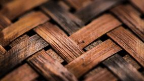 Texture of woven basket Stock Image