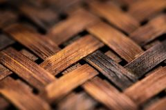 Texture of woven basket Stock Photography