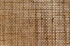 Texture of woven jute Royalty Free Stock Photo