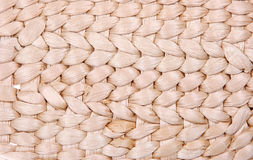 Texture woven of reeds Stock Photography