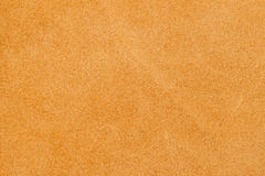 Texture of wrong side genuine leather close-up, cowhide, light orange. For natural, artisan backgrounds, substrate. Texture of wrong side genuine leather close Royalty Free Stock Images