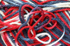 Texture of yarn ball Stock Image